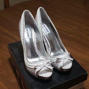 Not Rated Grey heels